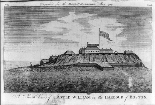 1789_CastleWilliam_BostonHarbor_MassachusettsMagazine