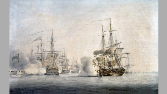 The Battle of Sullivan's Island