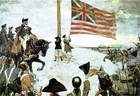 The New Year's Day Raising of the Union Flag on Prospect Hill
