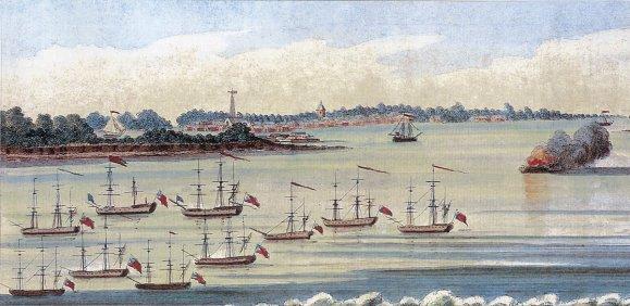 Fleet-after-battle