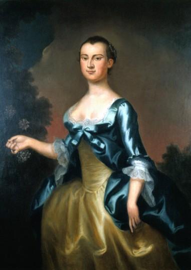 Martha Dandridge Custis, 1757