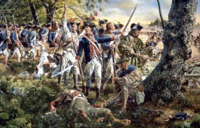 The Battle of Brandywine
